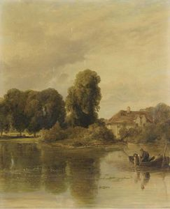 William Collins - The Decoy Pond At Hendon