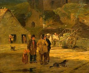 William Collins - The Village Gossip