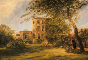 William Collins - View Of Sir David Wilkie-s House In Vicarage Place, Kensington