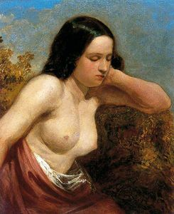 William Etty - Head And Shoulders Of A Woman