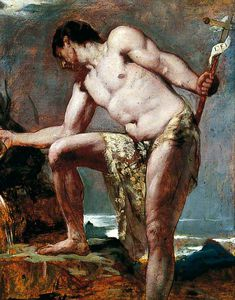 William Etty - John The Baptist
