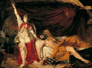 William Etty - Study For 'judith'