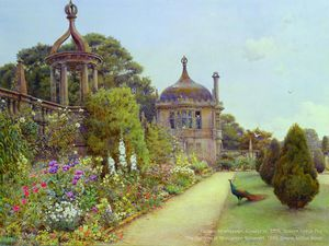 Ernest Arthur Rowe - The Gardens At Montacute