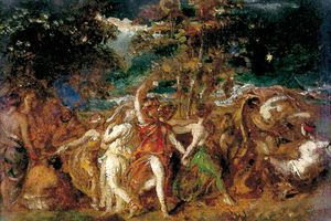 William Etty - The Dance
