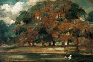 William Etty - The Fish Ponds, Givendale