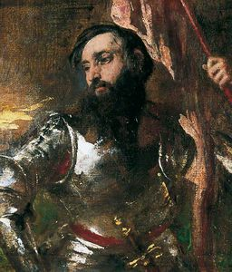 William Etty - The Standard Bearer