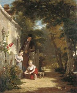 William Frederick Witherington - The Robin The Peasant From His Toil