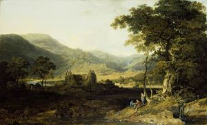 William Havell - Tintern Abbey
