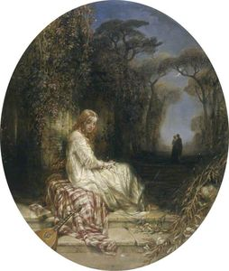 Alfred Joseph Woolmer - She Never Told Her Love