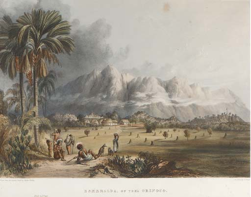 Views In The Interior Of Guiana by Charles Bentley (1805-1854, United Kingdom)