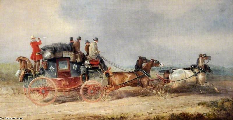 Hull And London Royal Mail by Charles Cooper Henderson (1803-1877, United Kingdom)