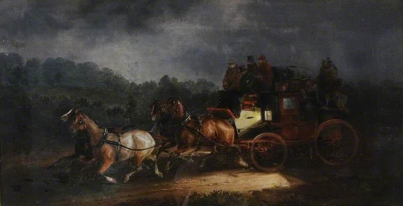 Leeds And London Royal Mail by Charles Cooper Henderson (1803-1877, United Kingdom)