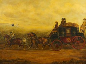 Charles Cooper Henderson - The Gloucester, Aberystwyth Mail Coach