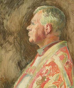 Duncan Grant - Study For A Portrait Of Bishop Bell