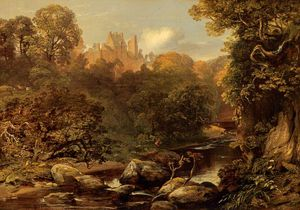 Horatio Mcculloch - Rosslyn Castle
