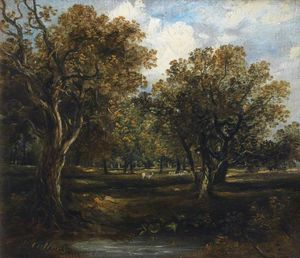 Horatio Mcculloch - Rural Scene -