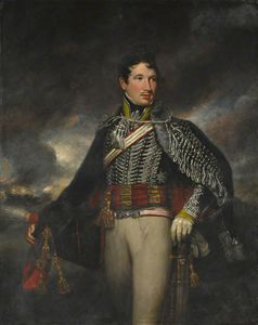 James Northcote - Lieutenant Andrew Finucane, 10th Light Dragoons (hussars)