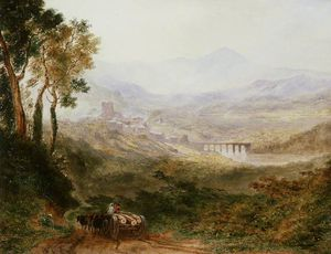 Joseph Murray Ince - Hay-on-wye And The Brecon Beacons