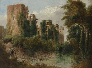 Joseph Murray Ince - Raglan Castle
