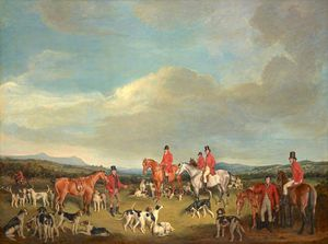 Francis Grant - A Meet Of The Fife Hounds