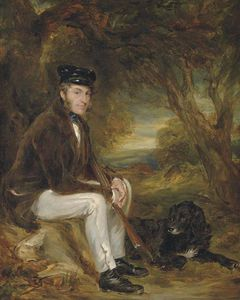 Francis Grant - Portrait Of A Gentleman, Possibly The Artist's Brother John Grant