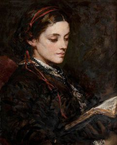 Francis Grant - Portrait Of A Lady -