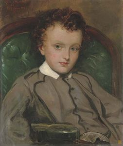 Francis Grant - Portrait Of The Hon. Henry Charles Hardinge