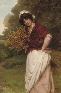 William Oliver - Gathering The Corn