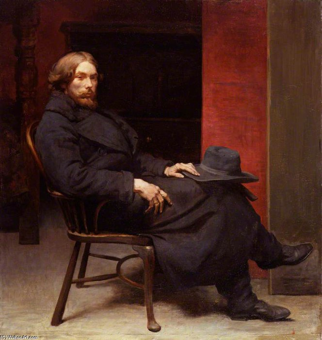 Augustus John by William Newenham Montague Orpen (1878-1931, Ireland)