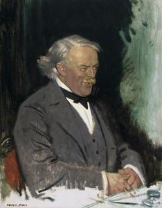 Order Painting Copy : David Lloyd George - by William Newenham Montague Orpen (1878-1931, Ireland) | WahooArt.com