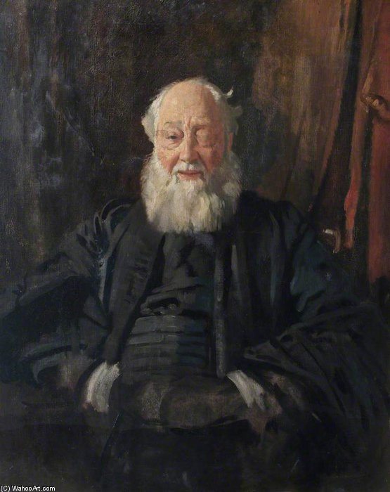 Dr Butler In Robes by William Newenham Montague Orpen (1878-1931, Ireland)