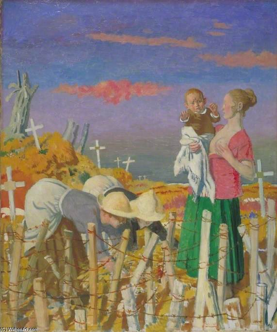 Harvest by William Newenham Montague Orpen (1878-1931, Ireland) | Painting Copy | WahooArt.com