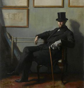 William Newenham Montague Orpen - Herbert Barnard John Everett