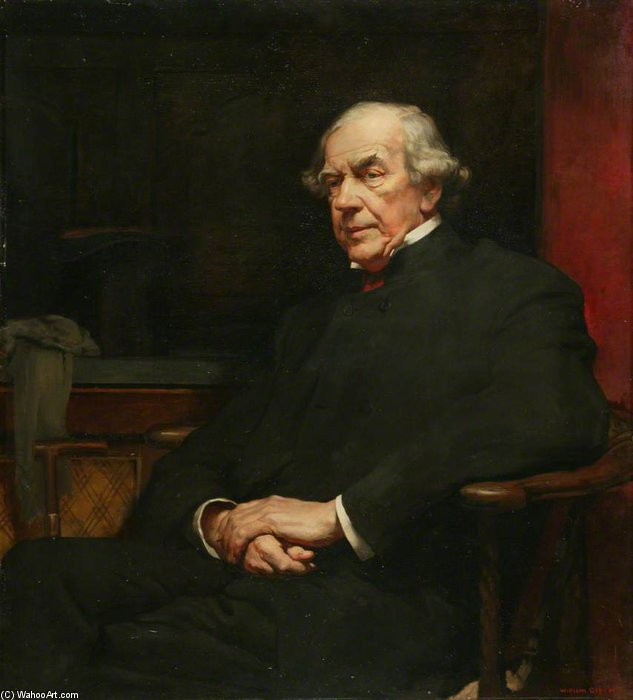 James Staats Forbes by William Newenham Montague Orpen (1878-1931, Ireland)