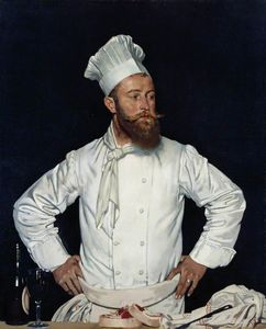 William Newenham Montague Orpen - Le Chef De L-hotel Chatham, Paris