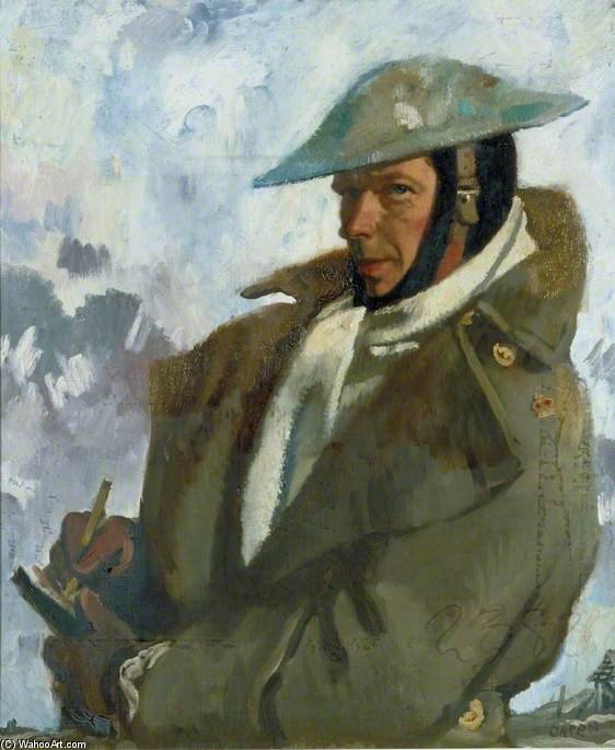 Self Portrait - by William Newenham Montague Orpen (1878-1931, Ireland)