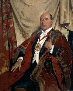 William Newenham Montague Orpen - Sir Andrew Lewis, Lld, Lord Provost Of Aberdeen