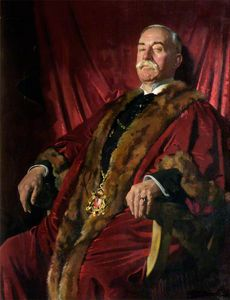 William Newenham Montague Orpen - Sir William Meff, Lord Provost Of Aberdeen
