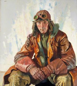 William Newenham Montague Orpen - The Non-commissioned Officer Pilot, Royal Flying Corps