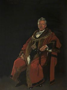 William Newenham Montague Orpen - The Right Honourable Baron Leverhulme