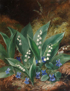 Albert Dürer Lucas - Lilies Of The Valley