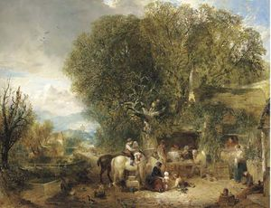 Edward Charles Williams - Outside The Bell Inn