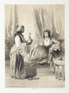 Émile Prisse D-avennes - Characters, Costumes And Modes Of Life In The Valley Of The Nile