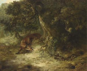 George Armfield (Smith) - Rabbit Hunting
