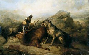 George Armfield (Smith) - Stag And Dogs