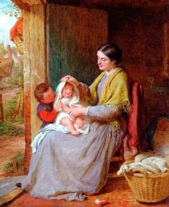George Smith - Playing With Baby