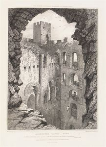 Joseph Nash The Younger - Architecture Of The Middle Ages