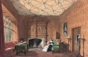 Joseph Nash The Younger - Small Drawing Room