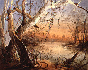 Karl Bodmer - Confluence Of The Fox River And The Wabash