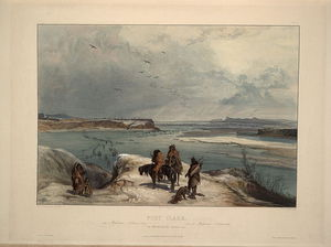 Karl Bodmer - Fort Clack On The Missouri